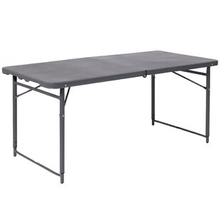 Best Reviews 48.25'' Rectangular Folding Table ByFlash Furniture