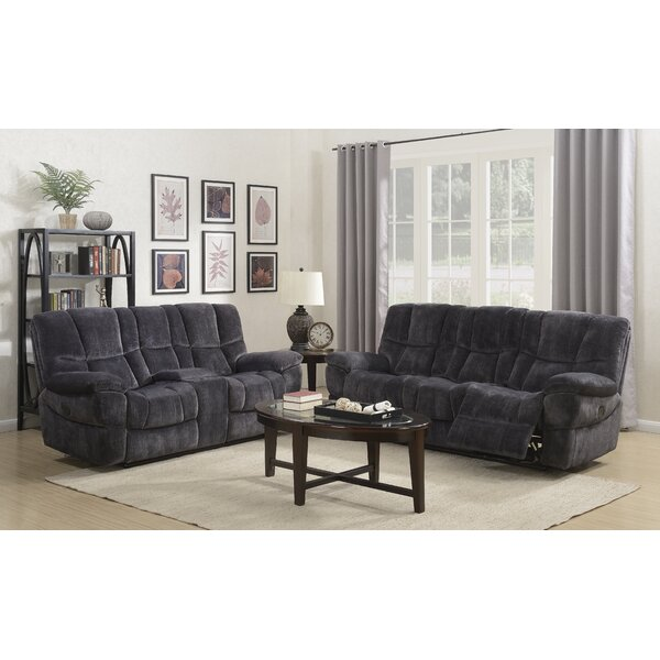 Pascarella Reclining Configurable Living Room Set by Winston Porter