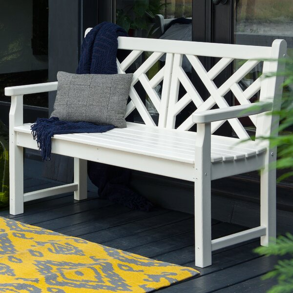 Chippendale Plastic Bench by POLYWOOD®