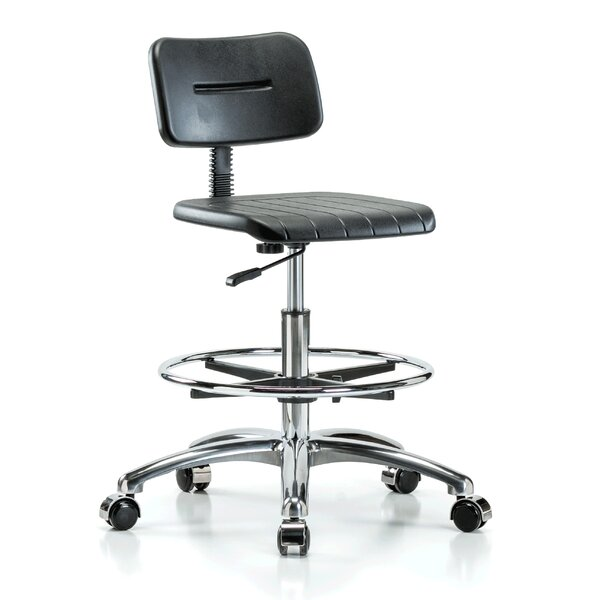 Industrial Mid-Back Drafting Chair by Perch Chairs & Stools
