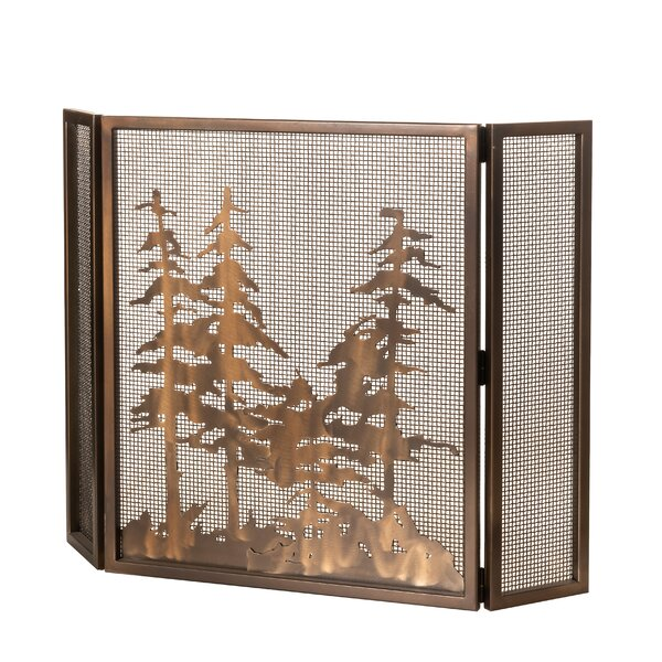 Tall 3 Panel Fireplace Screen By Meyda Tiffany