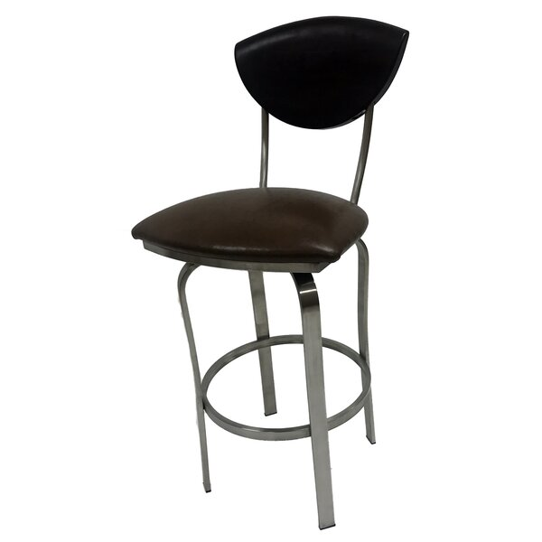 Mccracken 30'' Swivel Bar Stool by Latitude Run