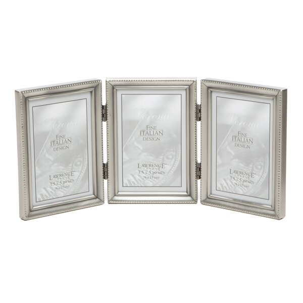 Saunterton Traditional Hinged Triple Picture Frame by Charlton Home