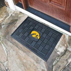NCAA University of Iowa Medallion Door Mat by FANMATS