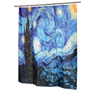 Purchase The Starry Night Shower Curtain ByBen and Jonah