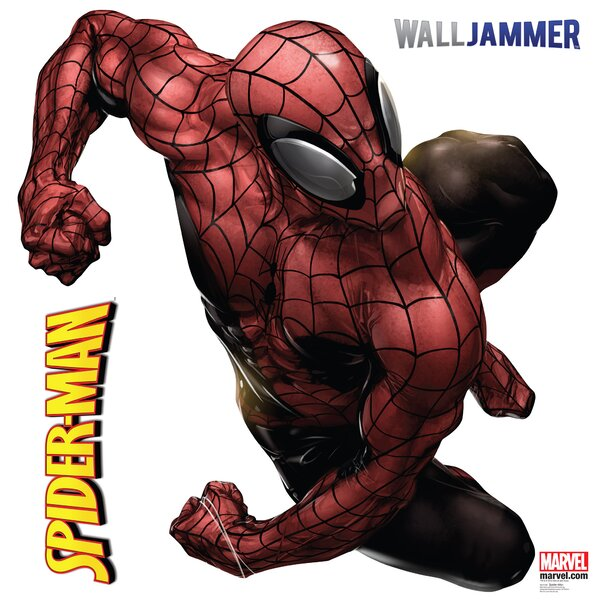 Spider-Man Webslinger Wall Decal by Advanced Graphics