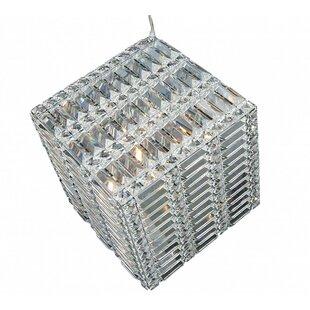 Broussard Covered 7-Light Crystal Pendant ByMercer41