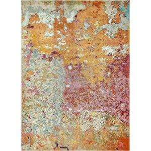 Chenango Rectangle Orange/Pink Area Rug