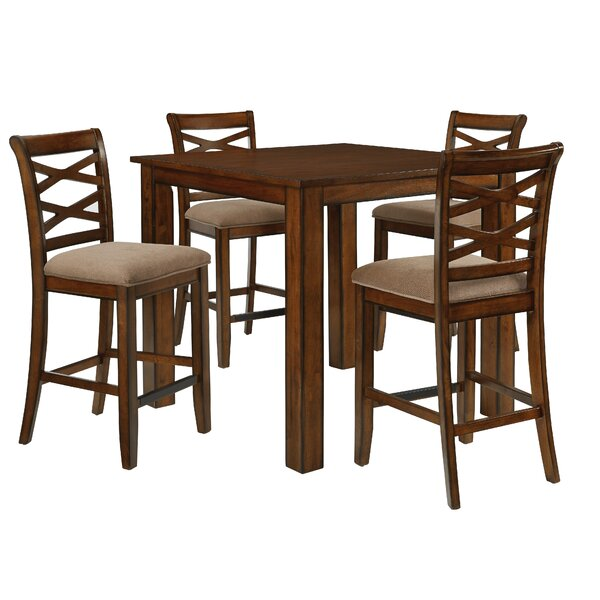 Oakley 5 Piece Counter Height Dining Set by Darby Home Co Darby Home Co