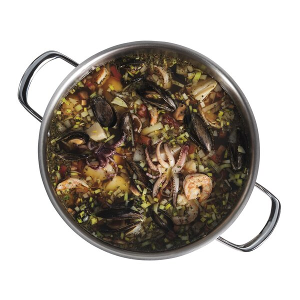 8 qt. Stock Pot with Lid by Wolf Gourmet
