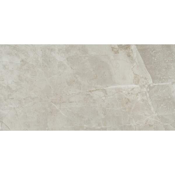 Vision 12 x 24 Ceramic Field Tile in Glacier by MSI