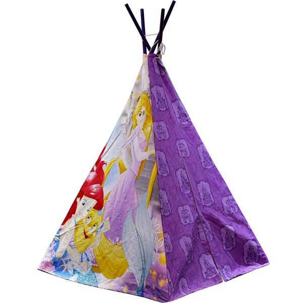 Disney Princesses Play Teepee with Carrying Bag by