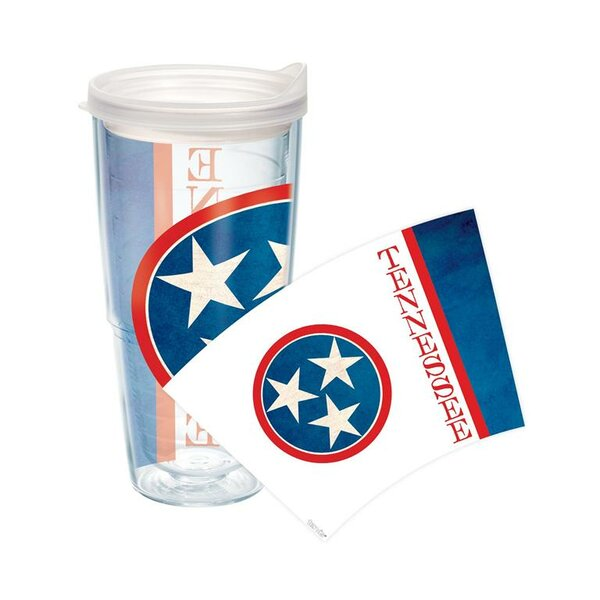American Pride Flag Plastic Travel Tumbler by Tervis Tumbler