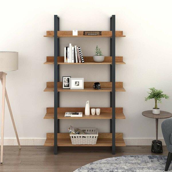 Culebra 5 Tier Splicing Ladder Bookcase by Union Rustic