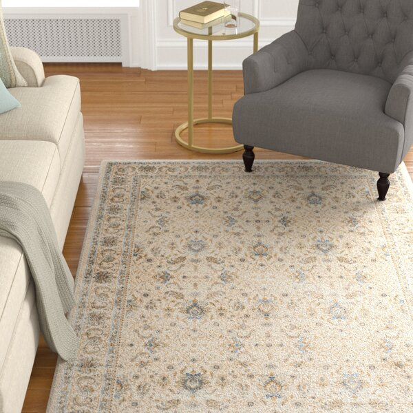 Woodhay Ivory Area Rug by Astoria Grand