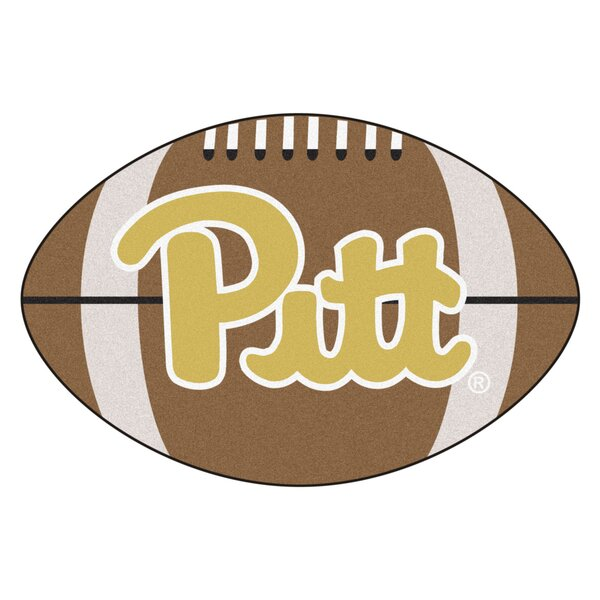 NCAA University of Pittsburgh Football Doormat by FANMATS