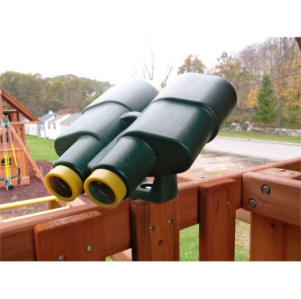 Plastic Jumbo Binoculars by Eastern Jungle Gym