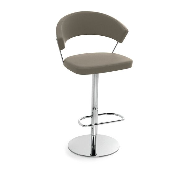 New York Adjustable Height Swivel Bar Stool by Connubia Connubia