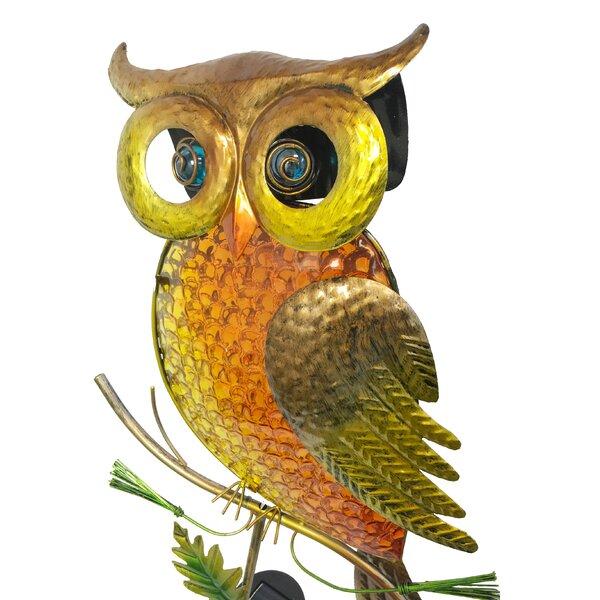 Owl Garden Stake by Continental Art Center
