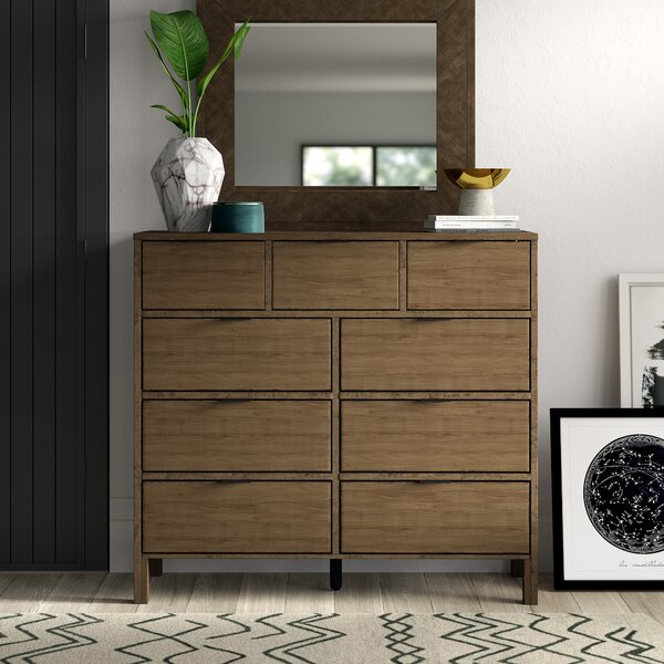 Hosier 9 Drawer Dresser by Mercury Row