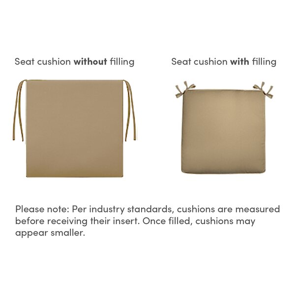 Luxury Indoor/Outdoor Lounge Chair Cushion (Set of 2) by Blazing Needles