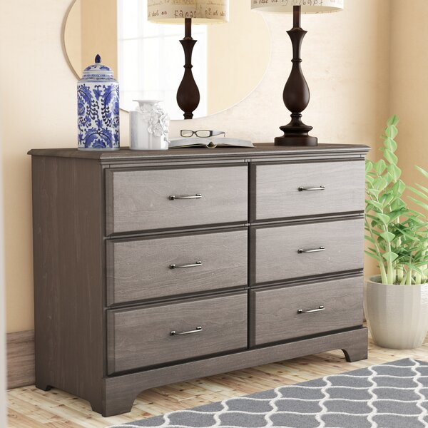 Ciara 6 Drawer Double Dresser By Grovelane Teen