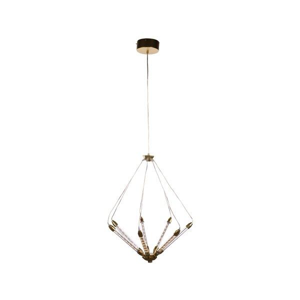 Hamblen 7-Light Unique / Statement Geometric Chandelier By Ivy Bronx