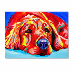 Ranger by DawgArt Painting Print on Wrapped Canvas by Trademark Fine Art