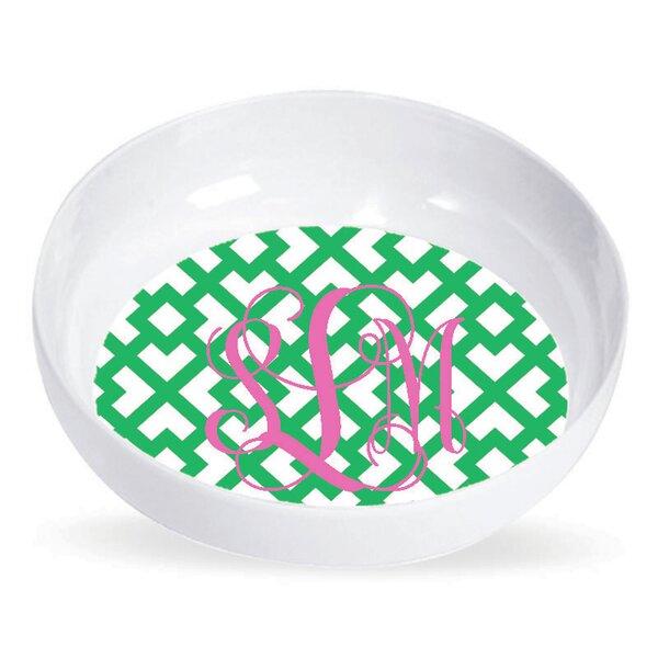 8 oz. Melamine Personalized Pasta Bowl (Set of 4) by Wildon Home ®