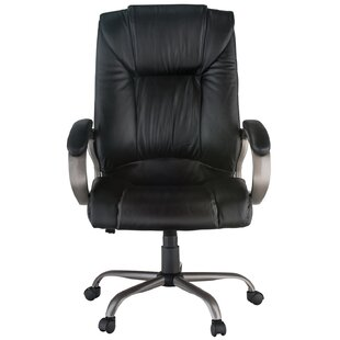 Genuine Leather Executive Chair by Harwick Furniture Best #1