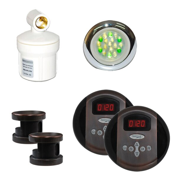 SteamSpa Royal Control Kit in Oil Rubbed Bronze by Steam Spa