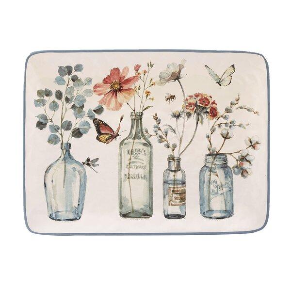 Fullen Rectangular Platter by August Grove