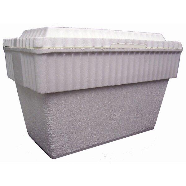 50 Qt. Chuckwagon Styrofoam Picnic Cooler (Set of 12) by Lifoam