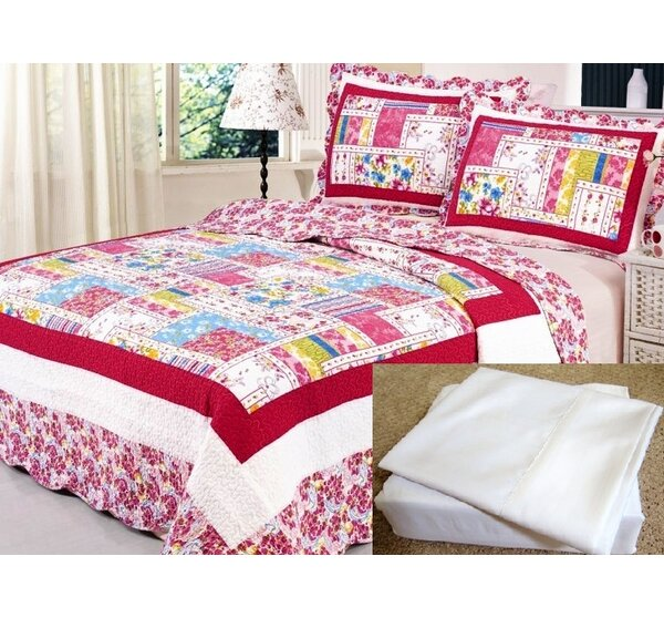Taina 7 Piece Reversible Quilt Set by Red Barrel Studio
