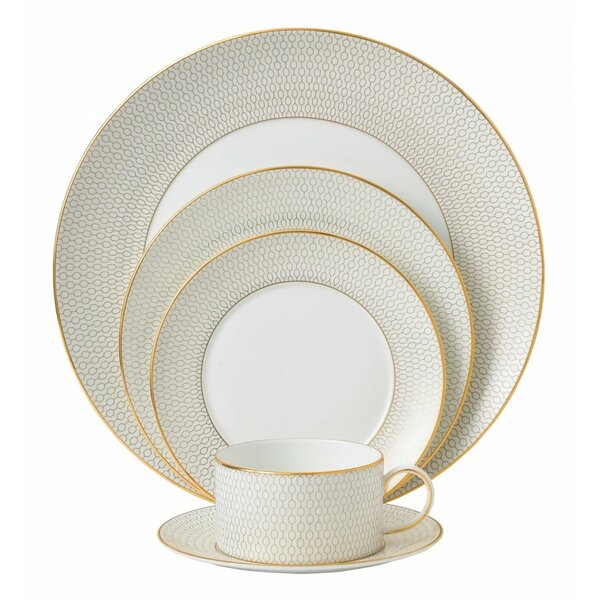 Arris 5 Piece Place Setting, Service for 1 by Wedgwood