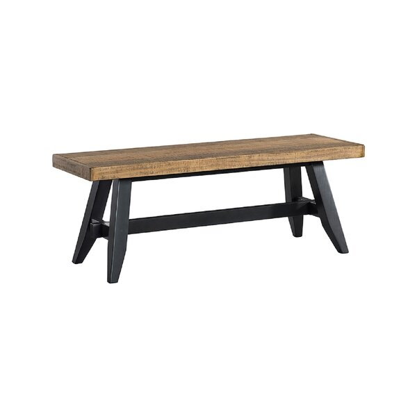 Laguna Wood Bench by Union Rustic