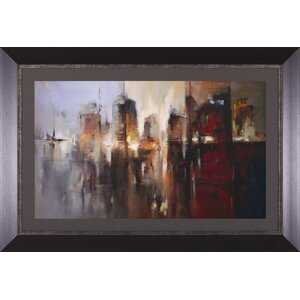 Citadel by A. Micher Framed Painting Print by Art Effects