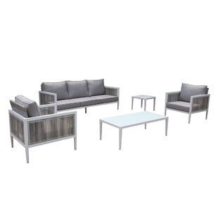 Pacifica 5 Piece Sofa Set with Cushions By Orren Ellis