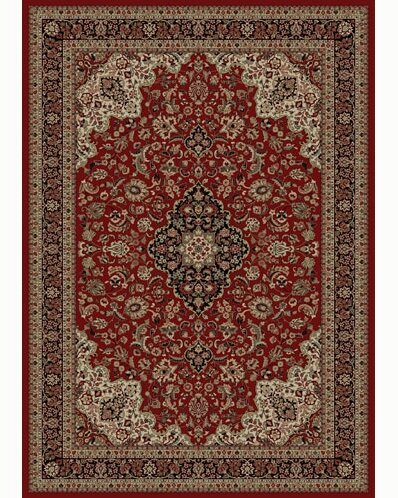Persian Classics Oriental Medallion Red Area Rug by The Conestoga Trading Co.