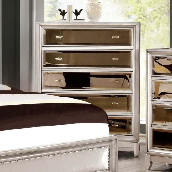 Guerrero 5 Drawer Chest by Willa Arlo Interiors