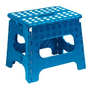 Superio Brand 11 Folding Step Stool (Blue) by Superior Performance