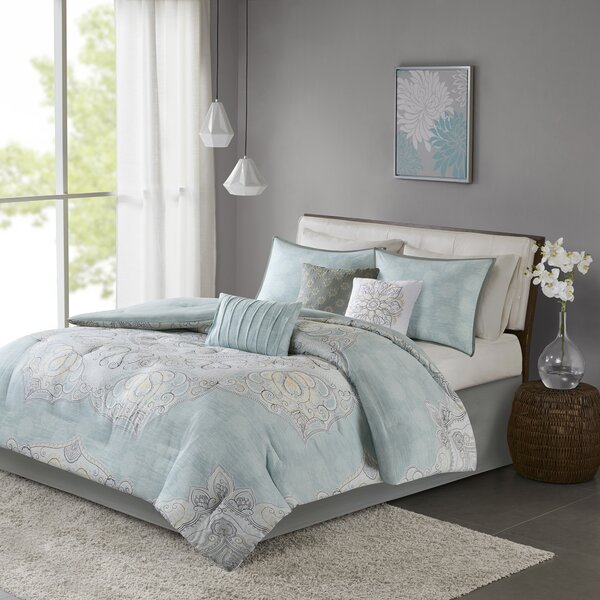 Kappler Reversible Comforter Set by Alcott Hill
