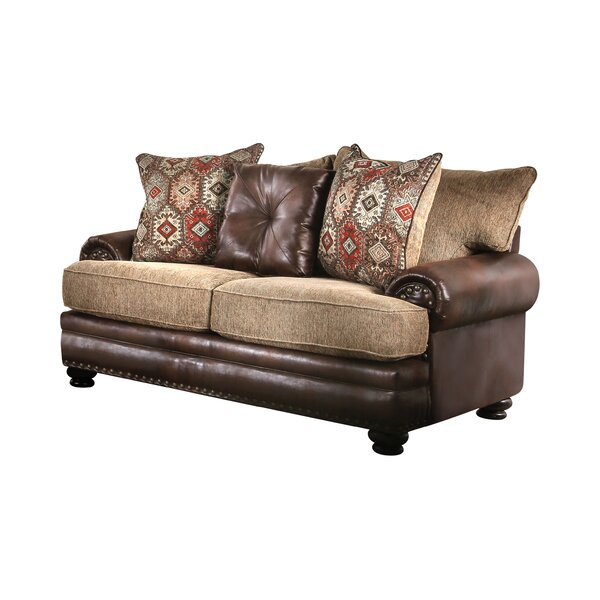 Mcfarlane T-Cushion Loveseat by Millwood Pines