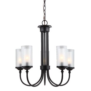 Searching for Neiman 5-Light Shaded Chandelier By Alcott Hill