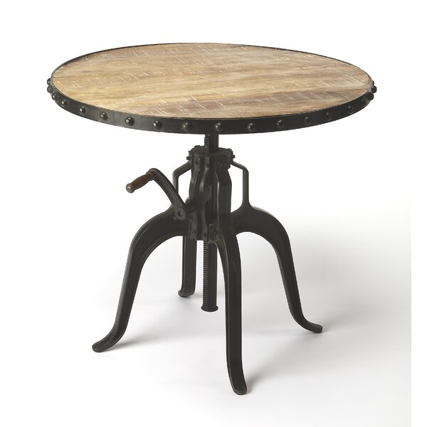 Aurelius Adjustable Pub Table by 17 Stories