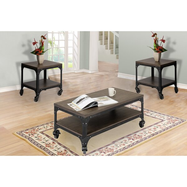 Ezra 3 Piece Coffee Table Set by 17 Stories