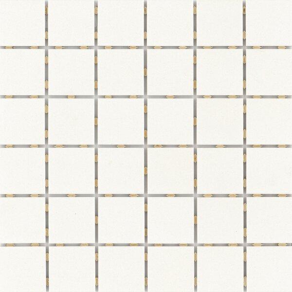 Zone 2 x 2 Porcelain Mosaic Tile in Matte White by Emser Tile