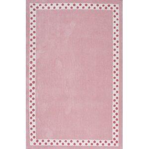 Audrey Pink Area Rug
