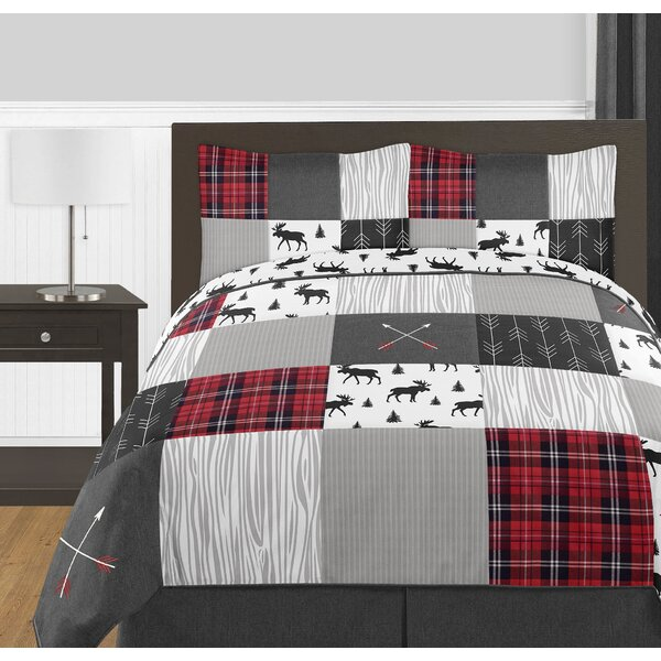 Rustic 3 Piece Reversible Comforter Collection by Sweet Jojo Designs