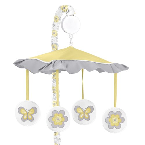 Mod Garden Musical Mobile by Sweet Jojo Designs